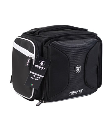 Monkey Fitness Pack Negro con Blanco